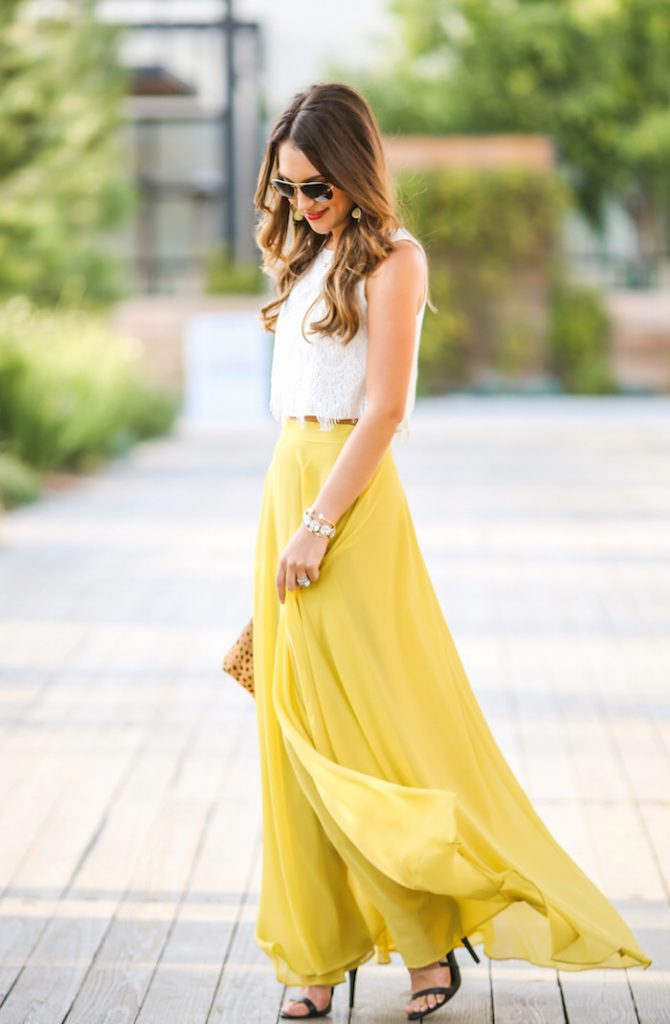Outfit: midi skirt, lime yellow carriebradshawlied