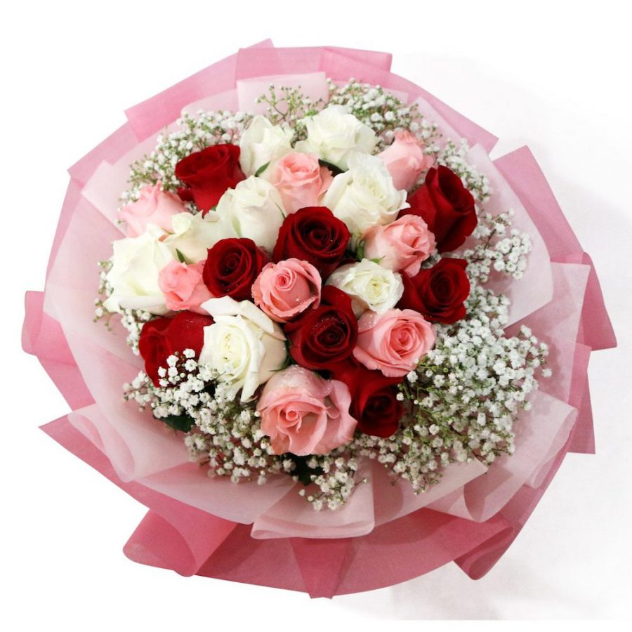 CBD Valentine's tanjong pagar bouquet roses floral moment